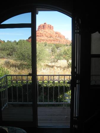 Canyon Villa Bed and Breakfast Inn of Sedona: Gorgeous view from our room