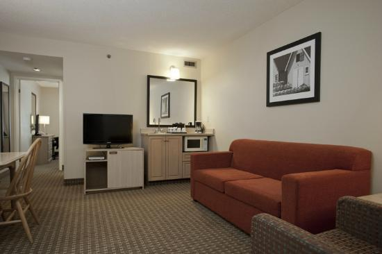 Travelodge Suites Dartmouth: Renovated Living Area in 1-Bedroom King Suite