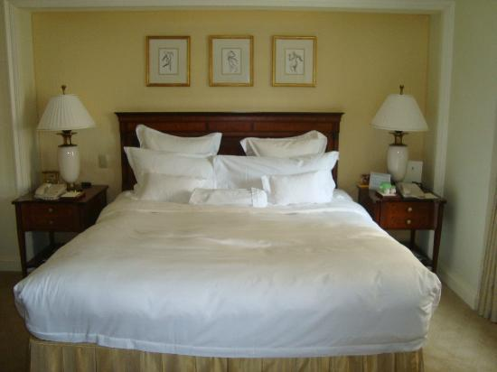 The Ritz-Carlton New York, Battery Park: LETTO DECISAMENTE CONFORTEVOLE