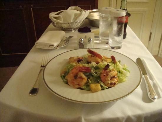The Ritz-Carlton New York, Battery Park: FOOD SERVIZIO IN CAMERA