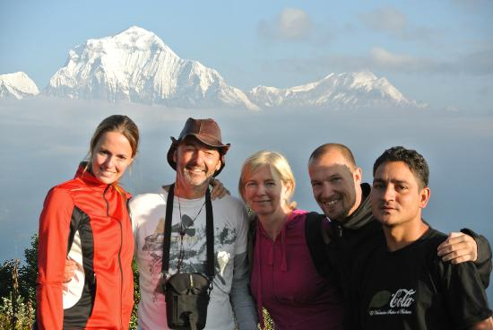Kathmandu Madhuban Guest House: Poonhill Trekking met onze gids Raji