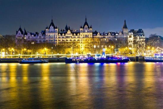The Royal Horseguards: View from the River Thames of the hotel
