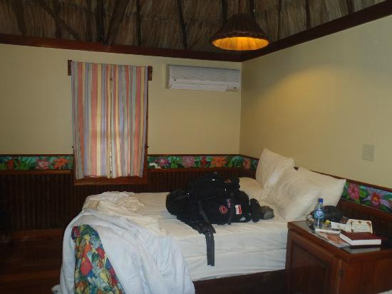 Ramon&#39;s Village Resort: the room - check out the handpainted floral border