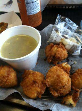 ... clam chowder - Picture of Amaral's Fish & Chips, Warren - TripAdv...