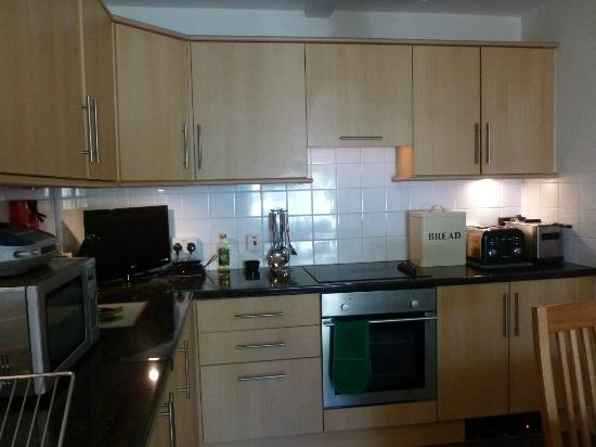 Riverside: Very well equipped kitchen