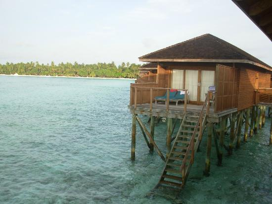 Meeru Island Resort & Spa: Water villas