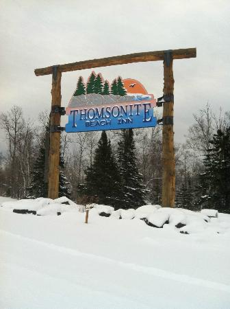 Thomsonite Beach Inn & Suites: When you see the sign stop next time......