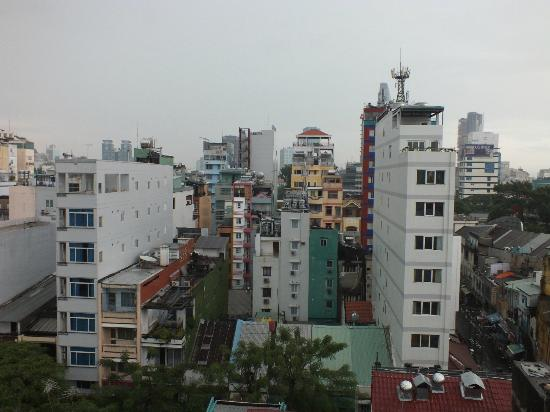 Beautiful Saigon Hotel: A WINDOW VIEW..!