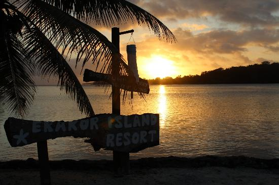 Erakor Island Resort & Spa: Sunset