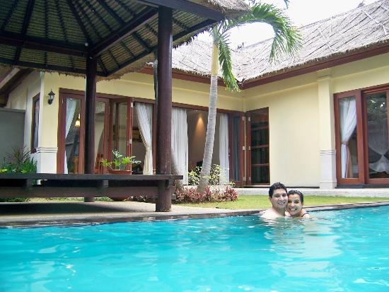 The Kuta Playa Hotel and Villas: Villa pool