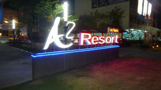 A2 Resort: Front of the resort