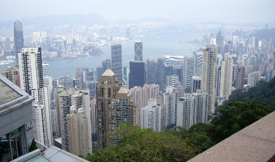Hotel Jen Hong Kong: View from the Peak