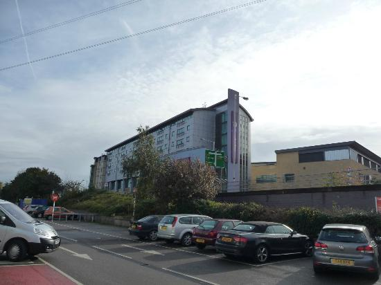 Premier Inn London Wimbledon South: View From Sainsbury's car park.