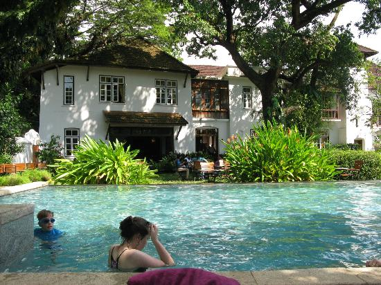 Old Harbour Hotel Kochi Old Harbour Hotel Swimming