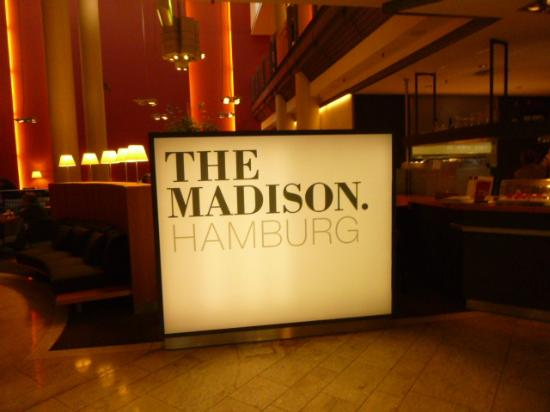 Madison Hotel Hamburg: lobby