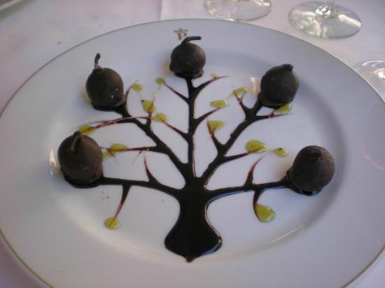 Parador de Caceres: Super dessert at the fabulous restaurant