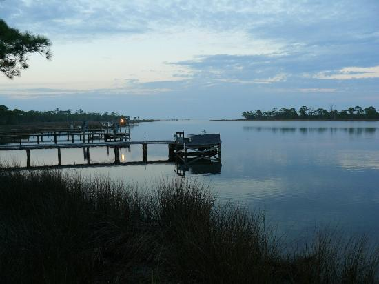 Cape San Blas Inn: View from the deck - to the creek