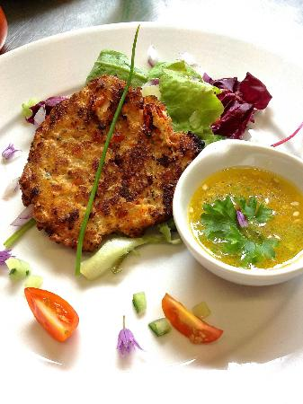 The Albert Inn: Thai chicken cake