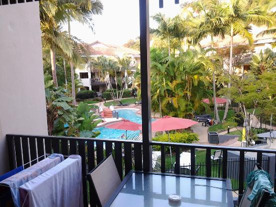 Mantra French Quarter Resort: View from 1 bedroom Delux Room