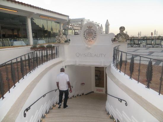 Grand Hotel Quisisana: off to the Spa