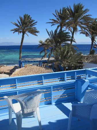 El Primo Hotel Dahab: view from the balcony