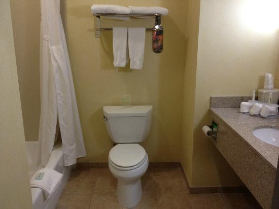 Bathroom Picture Of Holiday Inn Express Hotel Suites Banning Banning Tripadvisor