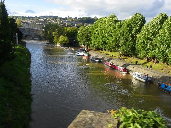 Milton House: River Avon in Bath.