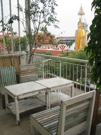 Phra-Nakorn Norn-Len Hotel: View from the rooftop