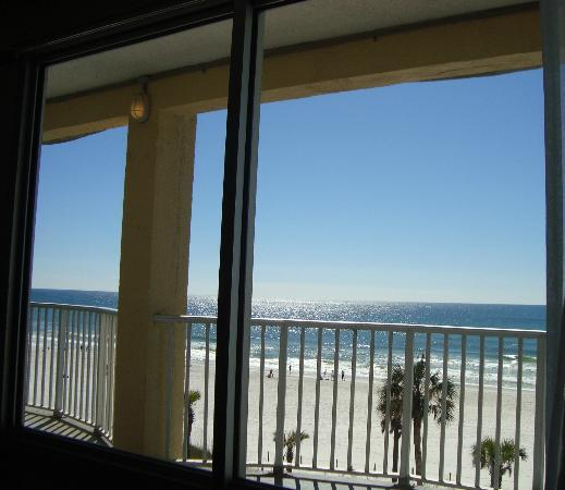Hotel at the Boardwalk Beach Resort: view from 4432