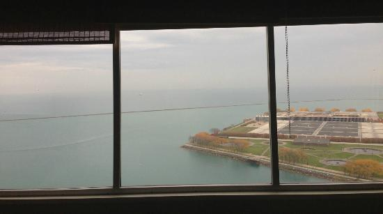 W Chicago Lakeshore: View from my room