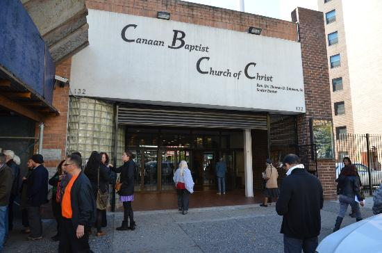Canaan Baptist Church Of Christ With Harlem Heritage Tours