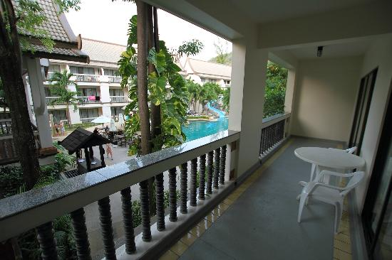 Centara Kata Resort Phuket: View from a balcony
