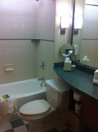 Radisson Hotel Cleveland - Gateway: small bathroom