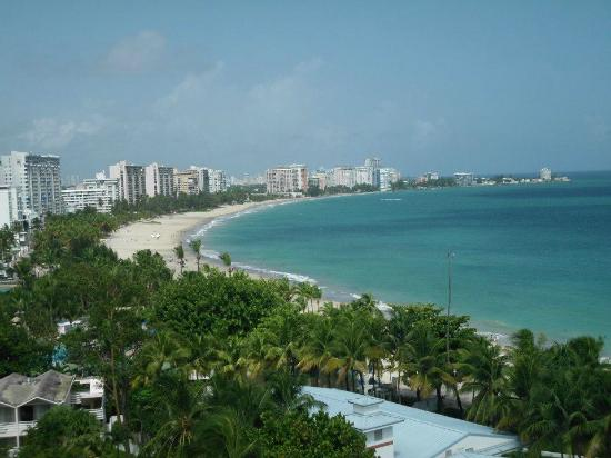 El San Juan Resort & Casino, A Hilton Hotel: This is the incredible view from the roof of the El San Juan
