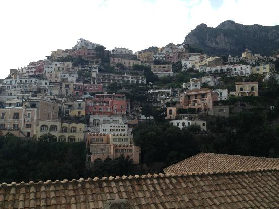 Residence La Tavolozza: View from the &quot;Yellow Room&quot; #6 (Positano Italy)