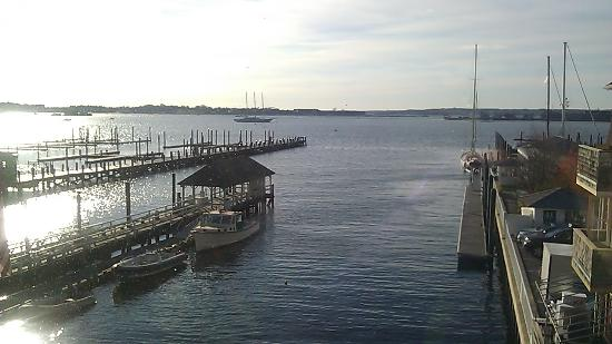 Wyndham Inn on the Harbor: View from living room.
