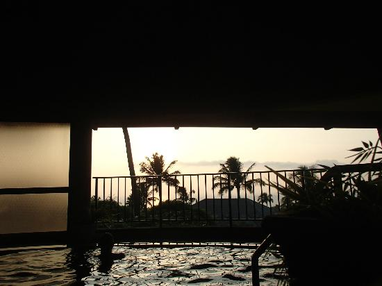 Hotel Wailea: Sunset from Spa
