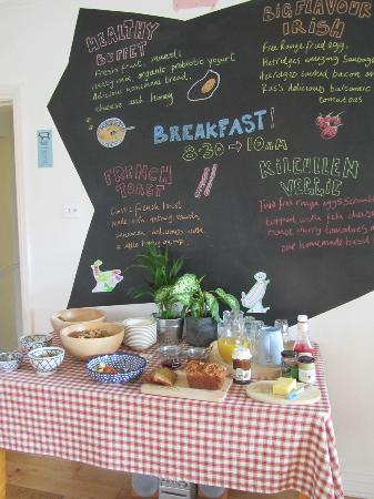 Breakfast Board at Kilcullen House