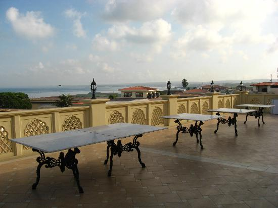 Zanzibar Grand Palace Hotel: Terrace