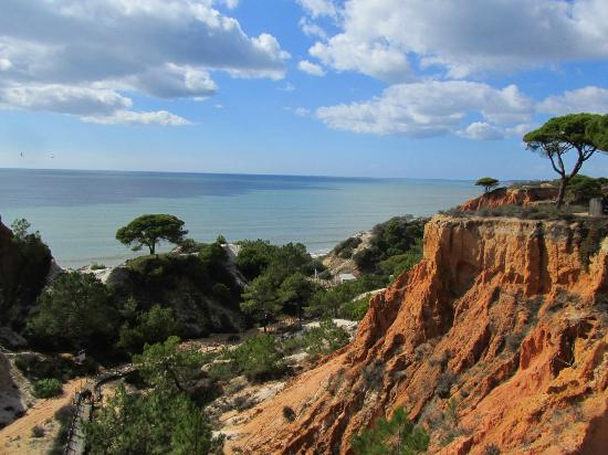 Sheraton Algarve Hotel: Beautiful cliffs