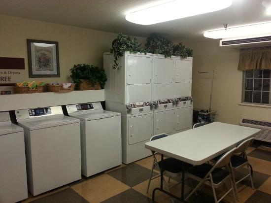 Hawthorn Suites by Wyndham Charlotte - Executive Park: Guest laundry