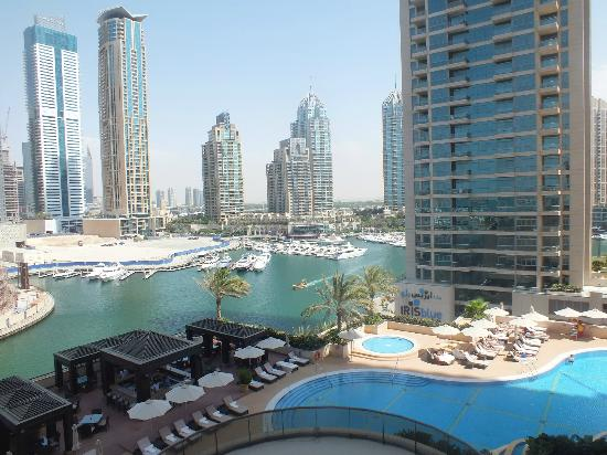View from suite picture of grosvenor house dubai dubai for Nice hotels in dubai