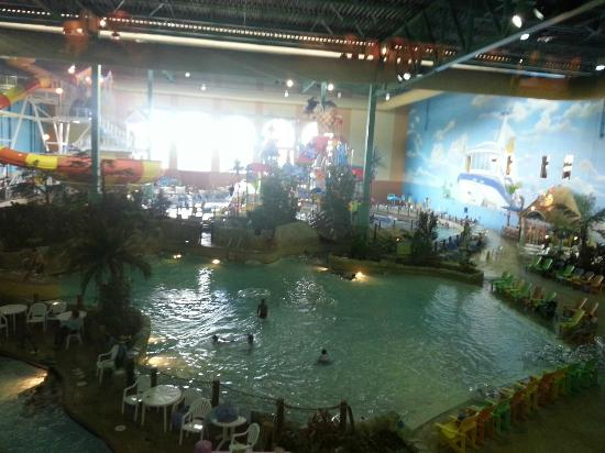 KeyLime Cove Water Park Resort: View of the swimming area
