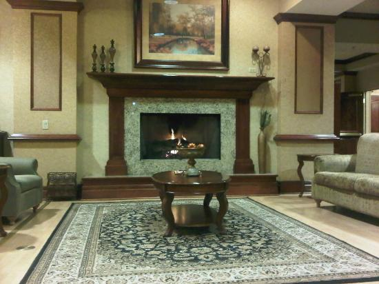 Country Inn & Suites Salt Lake City/South Towne: Beautiful details in the lobby.