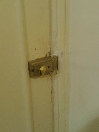 West Two London: lock to secure the things