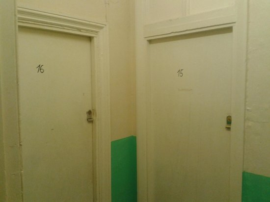 West Two London: numbers on doors