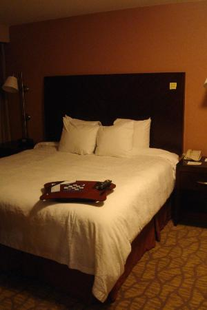 Hampton Inn & Suites Seattle Downtown: Bed