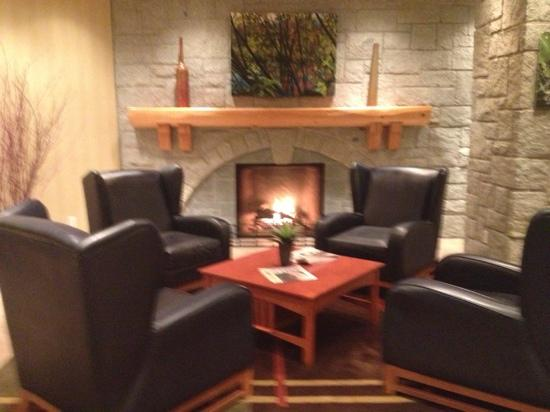 Crystal Lodge Hotel: Relax in the foyer