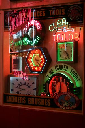 American Sign Museum: Neon Clocks