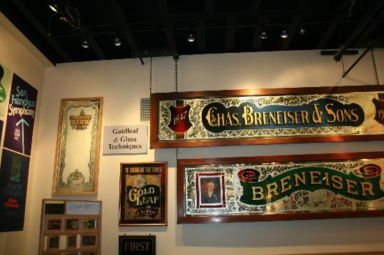 American Sign Museum: Gold Leaf Signs